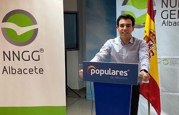 Fernando Morales nuevo portavoz regional NNGG CLM.