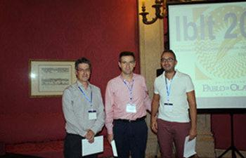 De izqda. a dcha: Eliseo Navarro, Antonio Díaz y Francisco Jareño