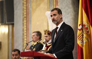 Felipe VI de España. Foto: EuropaPress