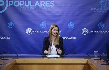 Carolina Agudo. Foto: PP CLM.