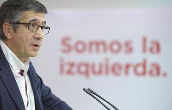 Patxi López.