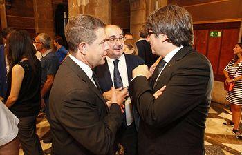 Emiliano García-Page acude a la Manifestación ciudadana contra los atentados terroristas de Barcelona y Cambrils