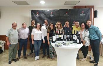 Cata de vinos D.O.P. Jumilla en Hellín.