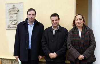 Soriano en el Ayuntamiento de Castejón (Cuenca). Foto: JCCM.