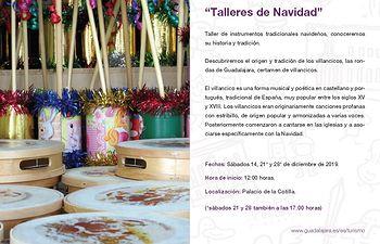 Abierto el plazo para participar en las actividades navideñas de la Concejalía de Turismo.