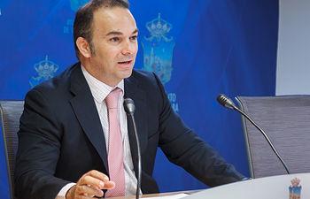Presentación de Avances en la revisión del Plan de Ordenación Municipal POM, Jaime Carnicero
