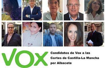 Vox Albacete campaña 26M.
