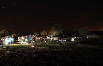 Observación astronómica Brihuega.