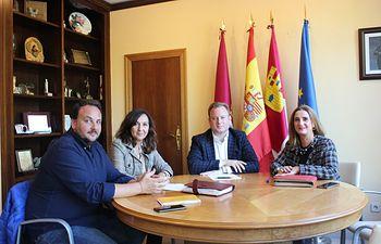 El Ayuntamiento ofrece su colaboración al Colegio de Administradores de Fincas para trabajar por el bienestar de los vecinos de Albacete