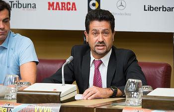 Francisco López, director del Club de Tenis Albacete
