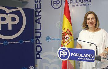La diputada nacional del PP por Guadalajara, Silvia Valmaña.