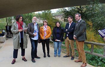 El delegado de la Junta en Guadalajara, Eusebio Robles, participa en la primera actividad programada en la Semana de la Ciencia.