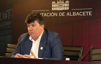 Antonio Serrano, portavoz del PP en la Diputación de Albacete.
