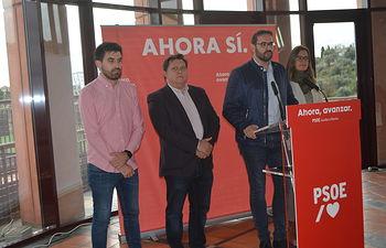 Sergio Gutiérrez, cabeza de lista del PSOE al Congreso por Toledo y secretario de Organización en Castilla-La Mancha.