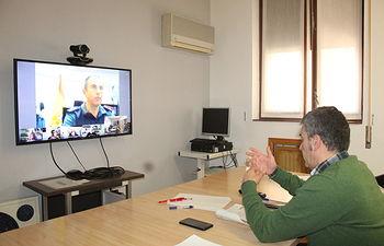 El subdelegado del Gobierno en Albacete, Miguel Juan Espinosa, ha presidido esta tarde la constitución del Centro de Coordinación Operativa Provincial.