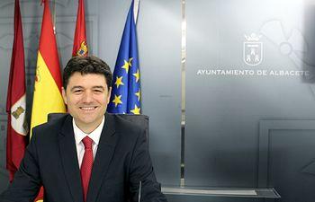 Francisco Navarro, concejal del Grupo Municipal del Partido Popular en el Ayuntamiento de Albacete.