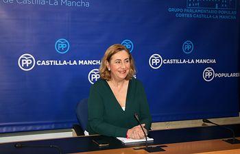 Silvia Valmaña, diputada nacional del PP y vicesecretaria de Acción Política del partido en la región. Foto: PP CLM.