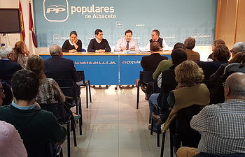 Comité Ejecutivo PP Albacete.