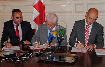 El día 11 de Marzo ha tenido lugar la firma del Convenio de Colaboración entre Leroy Merlin Albacete y Cruz Roja Española en Albacete