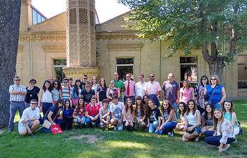 Imagen de archivo de los participantes de la fase regional del I Concurso Incubadora de Sondeos que tuvo lugar en el Campus de Toledo.