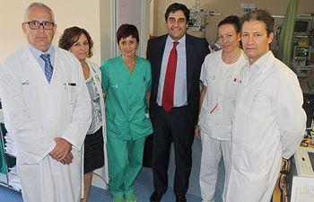 Echániz. Unidad de Ictus Hospital de Toledo. Foto: JCCM.