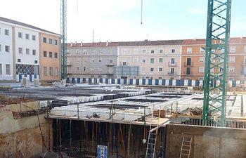 Obras Parking Astrana Marín.