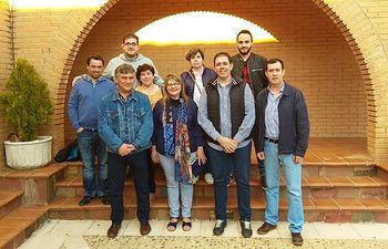 Miembros de la Ejecutiva del PSOE de Fuente del Fresno.