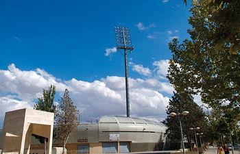 Estadio Carlos Belmonte, campo de juego del Albacete Balompié.