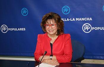 Carmen Riolobos, portavoz regional del PP.