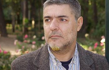 El pintor manchego Miguel Barnes en una foto de archivo.