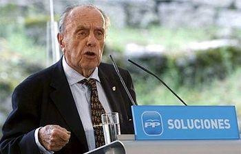 Manuel Fraga. Foto de archivo.