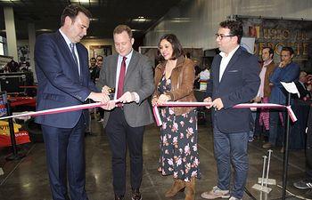 Inauguración de la Exposición del Museo del Deporte.