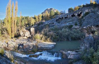 Cascada travertínica inactiva en Uña (Cuenca). © Flickr. CC BY-NC-SA 2.0