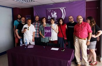 Podemos Albacete ha contado con la presencia de Rita Maestre para presentar la candidatura de Unidos Podemos