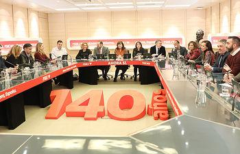 Comisión Permanente de la Ejecutiva Federal. Foto: Inma Mesa Cabello