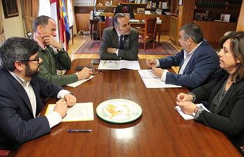 Gregorio se reúne con representantes de CSI-F