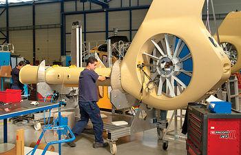 Fábrica Eurocopter en Albacete