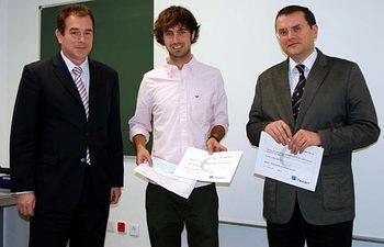 Jorge Ortiz, Andrés Blanco y Gonzalo Ruiz.