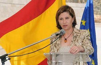 La ministra española de Medio Ambiente, y Medio Rural y Marino, Elena Espinosa. EFE