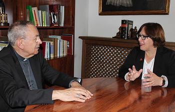 Carmen Olmedo con Antonio Algora