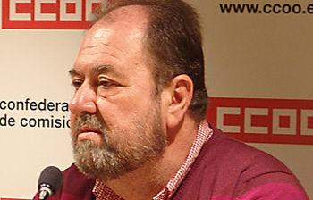 Alfonso Gil. Coordinador del área púlbica de CCOO Castilla-La Mancha