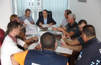 Constituida la Junta Local de Seguridad de Ontur, presidida por el subdelegado del Gobierno en Albacete y el alcalde de la localidad