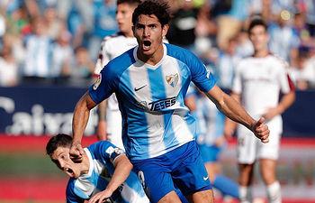 Málaga CF - Albacete Balompié (2-1). Foto: Málaga CF