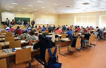La prueba ha reunido a más de 150 alumnos.
