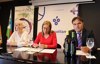 Promoción mutua de los vinos DO La Mancha en la Torre del vino de Socuéllamos.