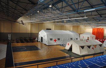 Casi 10 voluntarios y voluntarias participan en el sexto encuentro provincial de equipos de respuesta inmediata de Cruz Roja Española