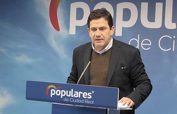 Miguel Ángel Valverde, secretario provincial del PP.