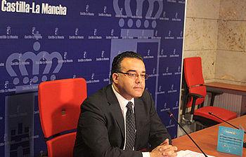 Hugo Muñoz, durante la presentación de los resultados de la campaña de captación de familias acogedoras