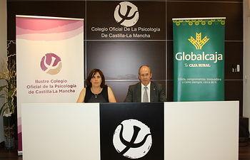 Firma de Globalcaja con el Colegio de Psicología de Castilla-La Mancha