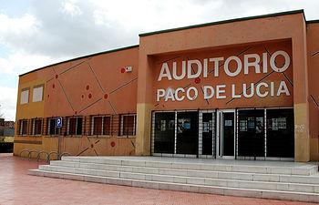 """Auditorio """"Paco de Lucía"""" de Alcalá de Henares."""